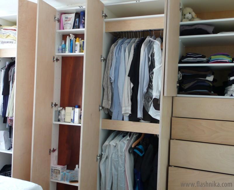 Шкаф для одежды гардероб своими руками