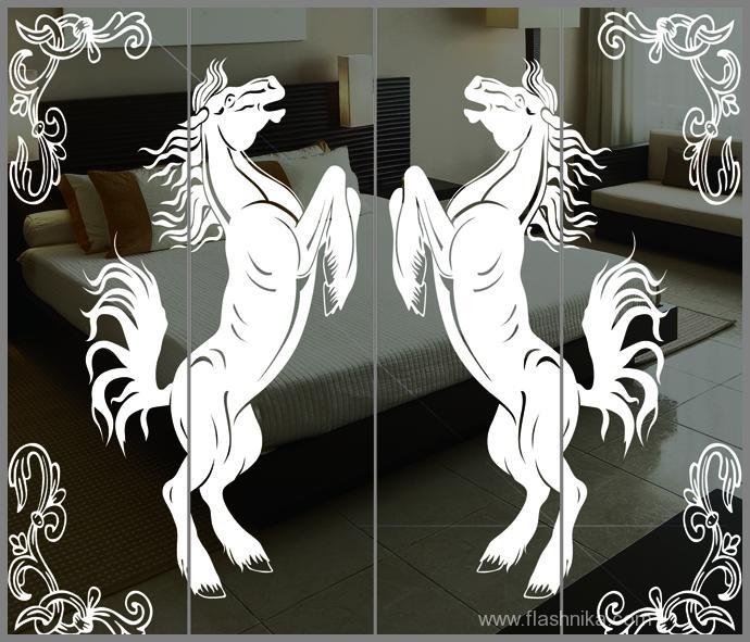 лошади на зеркале картинки казалось, что даже