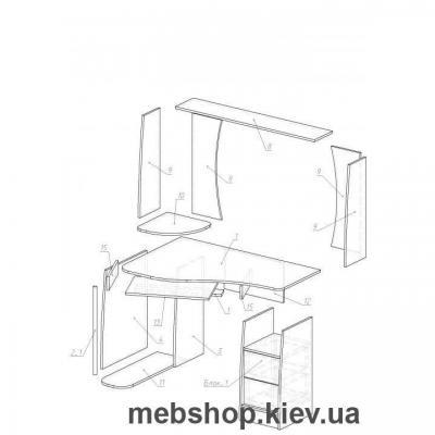 Компьютерный стол - Ника Ундина