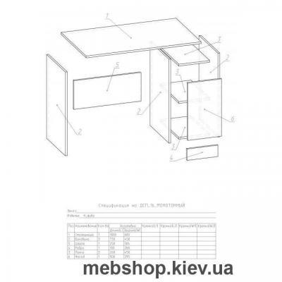 Компьютерный стол - Ника Фива