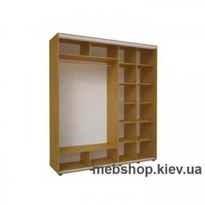 Шкаф-купе Эконом №12 (ДСП и зеркало)