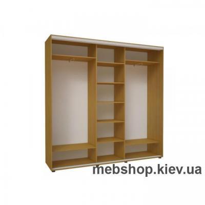 Шкаф-купе Эконом №29 (двери пескоструй вставки ДСП)