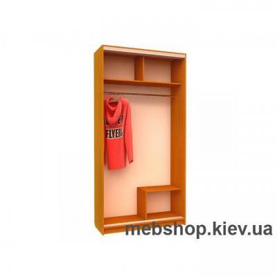 Шкаф-купе Ника №13 (зеркало вставки ДСП)