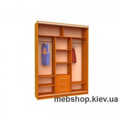 Шкаф-купе Ника 5 (двери зеркало, глубина 450мм)