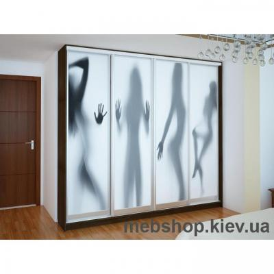 Шкаф-купе Ника 17 (двери фотопечать)