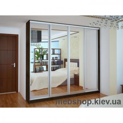 Шкаф-купе Ника 18 (двери зеркало)