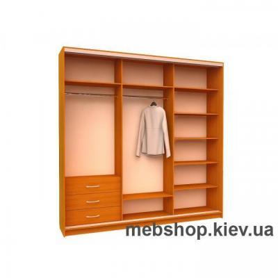 Шкаф-купе Ника 2 (двери пескоструй)