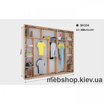 Шкаф-купе Дом ВН-334