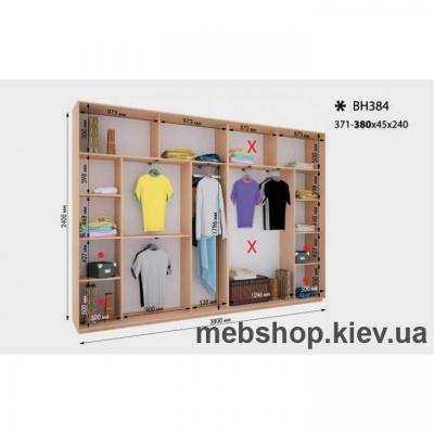 Шкаф-купе Дом ВН-384