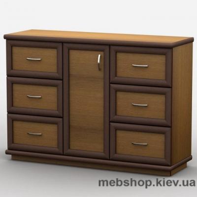 Шкаф-купе Эконом 15 БЕЛЫЙ (двери ДСП) + 2 ящика