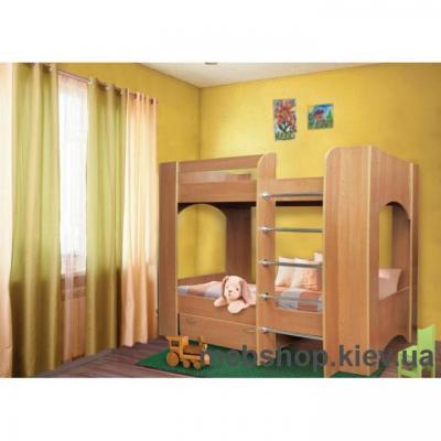 """Детская кровать Пехотин """"Дуэт-2"""""""