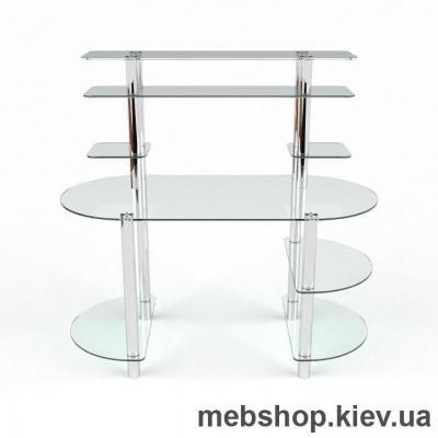 Компьютерный стол  из стекла БЦ Аванти(1400*650)