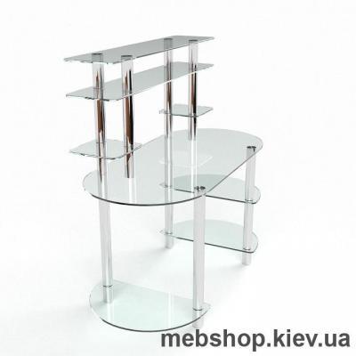 Компьютерный стол из стекла БЦ Аванти(1600*750)