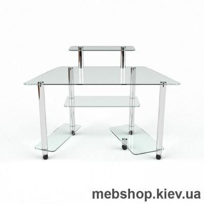 Компьютерный стол из стекла БЦ Аватар(1300*600)