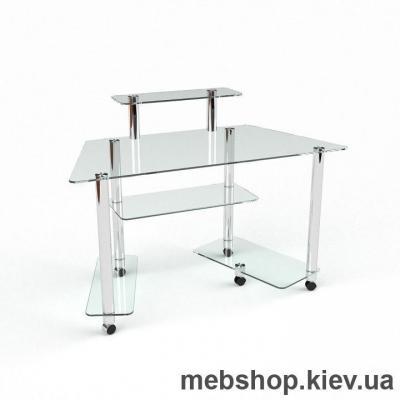 Компьютерный стол из стекла БЦ Аватар(1400*650)