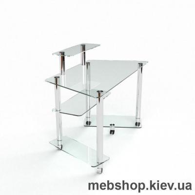 Компьютерный стол из стекла БЦ Аватар(1500*700)