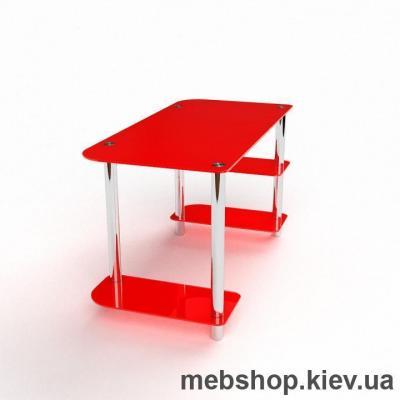 Компьютерный стол из стекла БЦ Альтаир(1350*650)