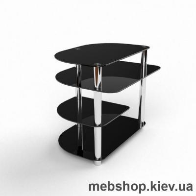 Компьютерный стол из стекла БЦ Амальтея(1100*920)