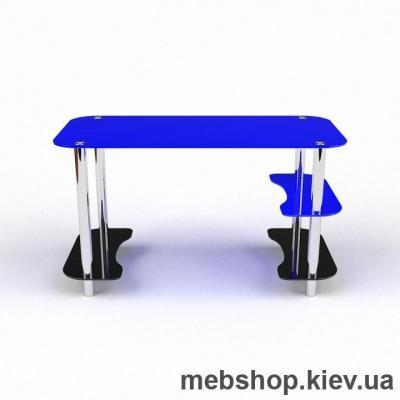 Купить Компьютерный стол из стекла БЦ  Антей(1450*700). Фото
