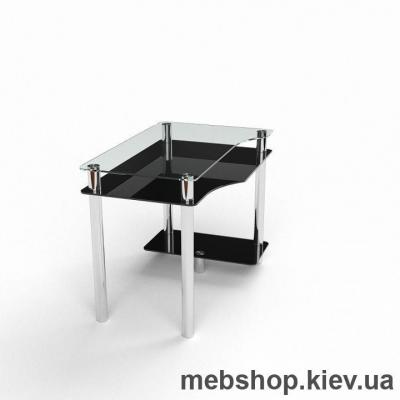 Компьютерный стол из стекла БЦ Арес(1000*660)
