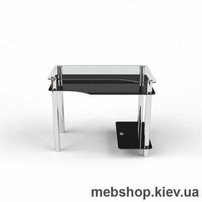 Компьютерный стол из стекла БЦ Арес(1100*730)