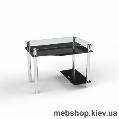 Компьютерный стол из стекла БЦ Арес(1200*800)