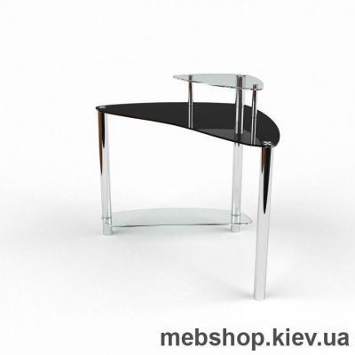 Компьютерный стол из стекла БЦ Валенсия(1000*1000)