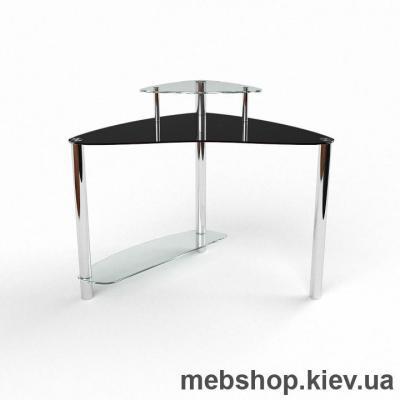 Компьютерный стол из стекла БЦ Валенсия (1100*1100)