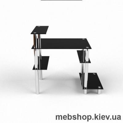 Компьютерный стол из стекла БЦ Веста(1100*750)