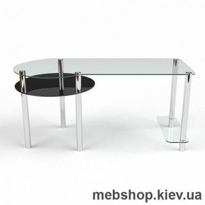 Компьютерный стол из стекла БЦ Виктория(1500*700)
