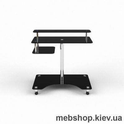 Купить Компьютерный стол из стекла БЦ Галатея (900*710). Фото