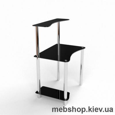 Компьютерный стол из стекла БЦ Геометрия(900*600)
