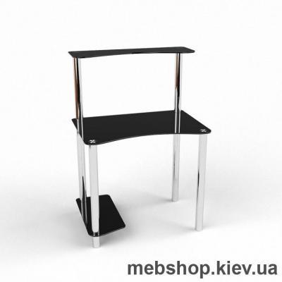 Компьютерный стол из стекла БЦ Геометрия(1000*650)