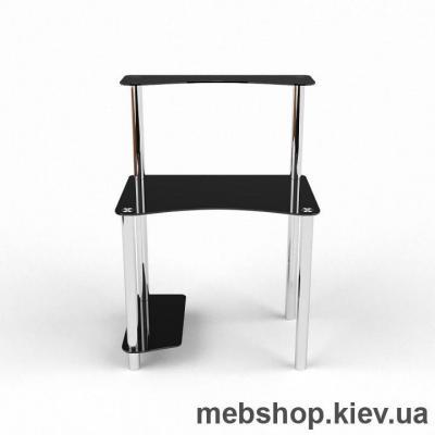 Компьютерный стол из стекла БЦ Геометрия(1100*700)