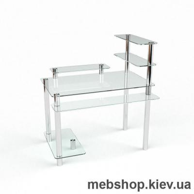 Компьютерный стол из стекла БЦ Гиперион(1300*700)