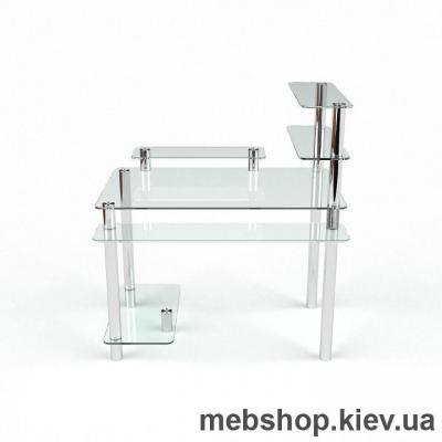 Компьютерный стол из стекла БЦ Гиперион(1400*750)