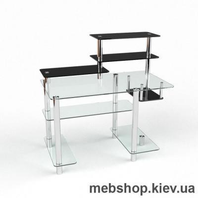 Компьютерный стол из стекла БЦ Дебют(1100*600)