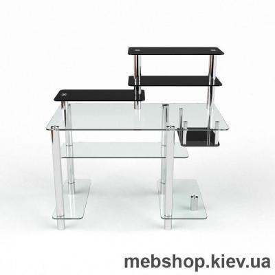 Компьютерный стол из стекла БЦ Дебют(1300*700)