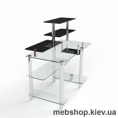 Компьютерный стол из стекла БЦ Дебют(1400*750)
