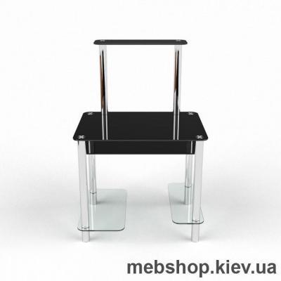 Компьютерный стол из стекла БЦ Дельта(1100*730)