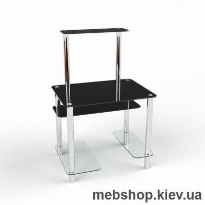 Компьютерный стол из стекла БЦ Дельта(1200*800)