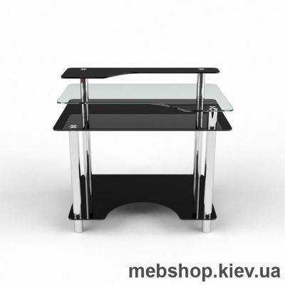 Компьютерный стол из стекла БЦ Денвер(1100*750)