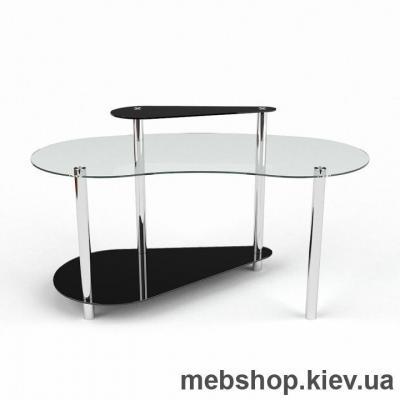 Компьютерный стол из стекла БЦ Дисней(1300*650)