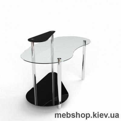 Компьютерный стол из стекла БЦ Дисней(1500*750)