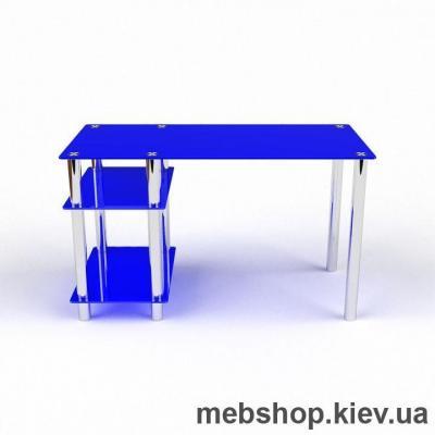 Компьютерный стол из стекла БЦ Дорис (1300*650)