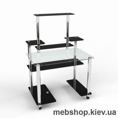 Компьютерный стол из стекла БЦ Европа (1000*650)
