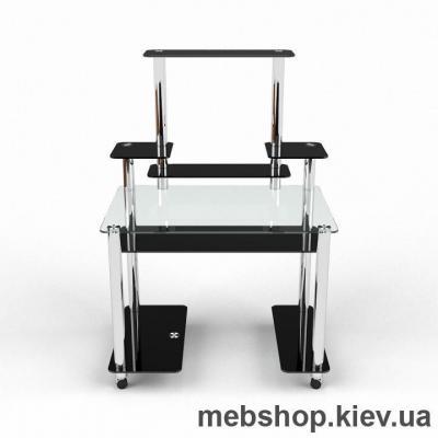 Купить Компьютерный стол из стекла БЦ Европа (1000*650). Фото