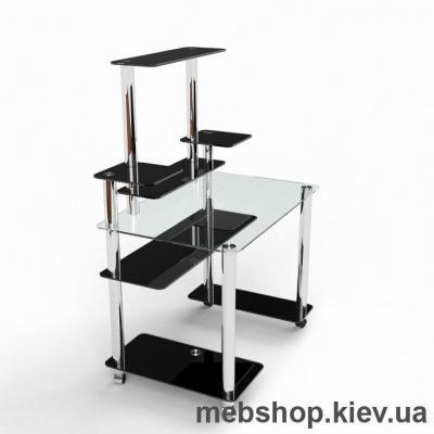 Компьютерный стол из стекла БЦ Европа (1100*700)