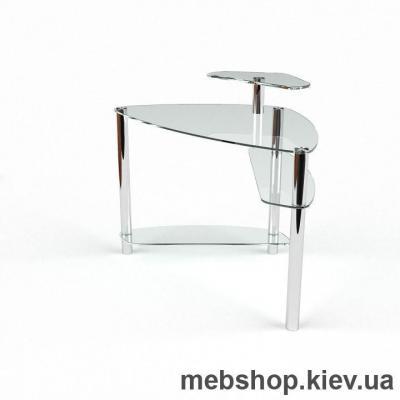 Компьютерный стол из стекла БЦ Електра (1100*1100)