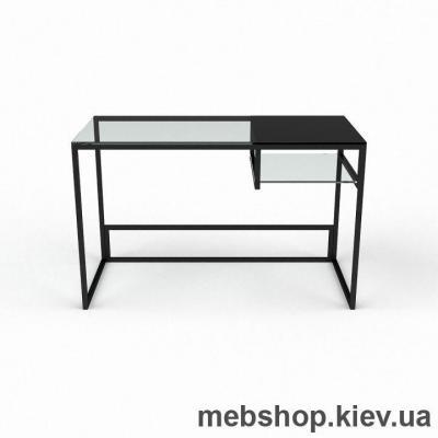 Компьютерный стол из стекла БЦ Инди (1300*650)